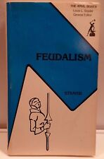 Feudalism ~ The Anvil Series ~ Joseph R. Strayer Paperback Book Krieger 1979