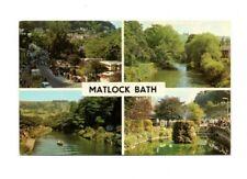 Derbyshire - Matlock Bath - Multiview Postcard Franked 1976