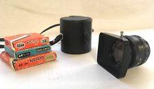 EBC Fujinon SW 1 :3.5 f =28mm Lens & Fujica Lens Hood f=24 28, Case & Filters