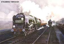 """Hornby Dublo in Railway Art """"Steaming Through"""" No. 28 Signed & Numbered."""