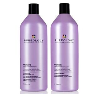 Pureology Hydrate Shampoo & Conditioner Duo 33.8oz - Newest package!!!!