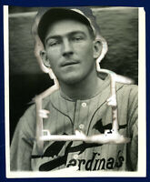 1931 Original Vintage  FLINT RHEM ! CHARLES CONLON Type 1 photo ! Cardinals  🔥