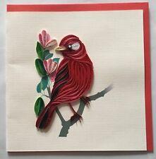 Kanarienvogel, Quilling-Karte