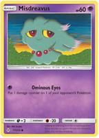 Misdreavus 77/214 Unbroken Bonds | Pokemon Card | New