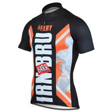 Irn Bru Cycling Jersey XXS~Shirt Top Scotland Scottish Saltire Fiery Extra Small