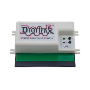 Digitrax UR93 Duplex Radio Transceiver ~ Replaces UR92 ~ W/ Power Supply & Cable