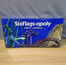 New Factory Sealed SixFlags-opoly Six Flags Great America Monopoly Board Game