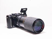80-200mm= lens 160-400mm on LUMIX G HD 4K Micro 4/3 Digital PEN GF3 G6 G5 G3 GM1