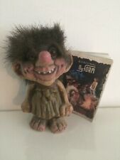 Original NyFoam 4 Inch Handmade Troll Made In Norway #15 With Booklet 1994