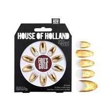 House Of Holland False Nails - Foils Gold (24 Nails)