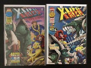 2 Issue Lot - X-Men And The Brood Limited Series 1 2