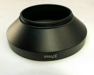 37mm Metal Sturdy LENS hood Wide Angle for  screw w/ threaded in front rim 58mm