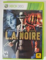 L.A. Noire (Microsoft Xbox 360, 2011) Complete with 3 Discs