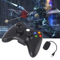 2.4 G Wireless Games Controller Gamepad Joystick+Receiver For Microsoft Xbox 360