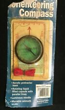 New NOS Pro Military Compass Outdoor Hiking Camping Orienteering Marching Scouts