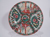 VINTAGE PIATTO COLLEZIONE ORIENTALE HONG KONG DIPINTO MANO HAND MADE OLD PLATE