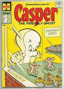 CASPER, THE FRIENDLY GHOST #63 (Spooky & Ghostly Trio, 1st Series) Harvey, 1957