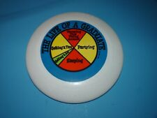 No Slit Drip vintage FrisBee Disc The Life of A Graduate Partying Sleeping Rare