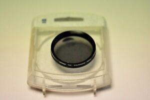 Tiffen 46mm circular polarizer filter. New
