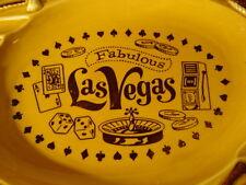 Vintage Fabulous Las Vegas Nevada Souvenir Ashtray