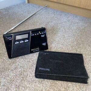 Philips D1848 AM Portable Pocket Radio - Mini Radio - Excellent Condition - Rare