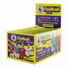 Panini Football 2020 Premier League Stickers - Box of 100 Packs - Unopened NEW