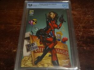 Escape from Monster Island #6 SDCC Cosplay variant 1/500 CBCS 9.8 Deadpool