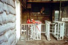 PHOTO  1984 GLOUCESTERSHIRE TURNSTILE OPERATORS AT BIRDLAND WHO'S A PRETTY BOY?