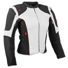Speed and Strength Women's Comin' In Hot Textile Jacket White Black SM Size HB