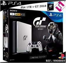 VIDEOCONSOLA SONY PS4 PLAYSTATION 4 1TB SLIM + JUEGO GRAN TURISMO SPORT ESPECIAL