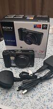 Sony Cyber-shot DSC-HX9V 16.2MP appareil photo numérique-noir + 16 Go Carte SD