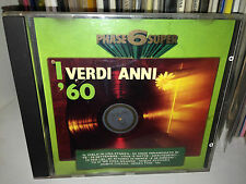 PHASE 6 SUPER VERDI ANNI 60 CD 1989 MINA TENCO BATTISTI MODUGNO PAOLI RENIS