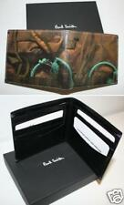 PAUL SMITH Leather Billfold Camouflage Wallet NEW NIB