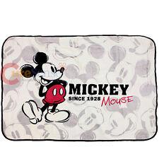 "Disney Mickey Mouse Classic Raschel Plush Blanket Microfiber 48""x36"""