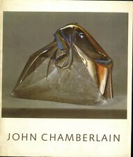 JOHN CHAMBERLAIN *Very Rare* 1971 Sculpture Guggenheim Museum Catalogue  1/2000