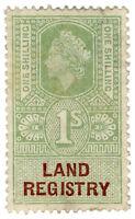 (I.B) Elizabeth II Revenue : Land Registry 1/-