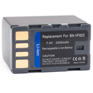 Hi-Capacity Battery for JVC BN-VF823U GZ-HD7us GZ-HD300 GZ-MS90US GZ-MG365BUS
