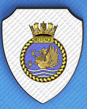 HMS REVENGE 1968 WALL SHIELD