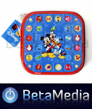 Disney Mickey Mouse & friends 1- CD / DVD Tin Storage Wallet Case Holds 24 discs