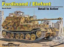 20308/ Squadron Signal - Detail in Action 1 - Ferdinand / Elefant - Hardcover