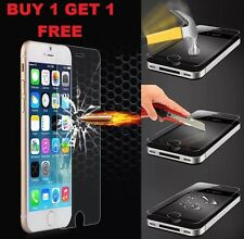 100% Genuine Tempered Glass Screen Protector Protection For Apple iPhone 6,6S