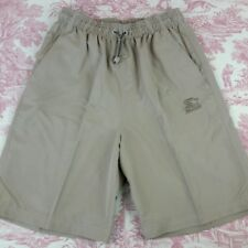 Starter Shorts Size Small Elastic Waistband with Cinch Tan Two Hand Pockets
