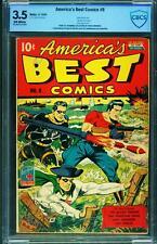 America's Best Comics #9 CBCS 3.5 1944-WWII cover-Alex Schomburg