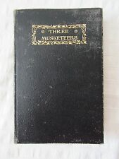 Alexandre Dumas THE THREE MUSKETEERS Thomas Crowell Co. c. 1901 Antique