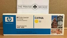 C4194A - Genuine HP Laserjet Yellow Toner Cartridge for 4500 / 4550 Series