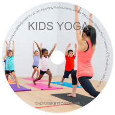 Yoga For Kids DVD - Childrens Yoga Class For Beginners Relax Educational