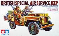 Tamiya 35033 British Special Air Service Jeep 1/35 scale kit