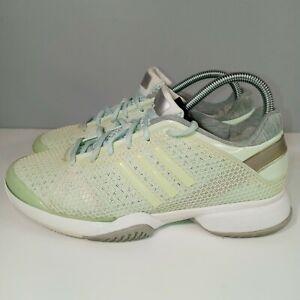 Adidas Stella McCartney Barricade Tennis Shoes Light Green Women's Size 9