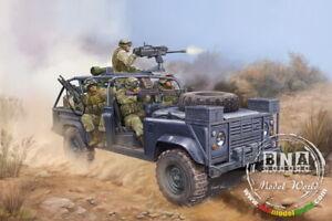HobbyBoss Model kit 1/35 Land Rover RSOV w/MK 19 Grenade Launcher #82449