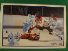 """1996 MCDONALD'S MONTREAL FORUM """"FOREVER PROUD"""" PLACEMATS WITH MAGIC 3D IMAGES"""